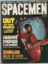 SPACEMEN MAGAZINE 1964  NO. 8 film cinema sci-fi horror. amazing contents
